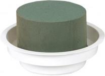Florex - aranžovací miska bílá - 6 ks