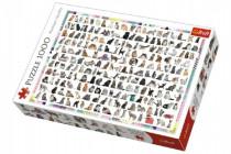 Puzzle 208 Kočiček 1000 dílků 68x48cm