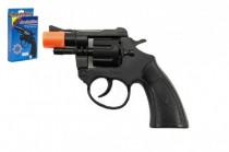 Pistole/Kolt na kapsle 8 ran plast
