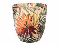 Obal na květník KODET PALMA keramický lesklý d16x17cm