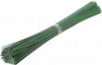 Drát sekaný - zelený 1 kg (1mm/40cm)