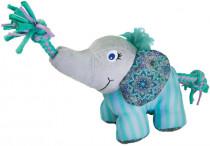 Hračka textil Knots slon S/M Kong