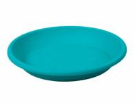 Podmiska pod květník MEDEA plastová modrá 28cm