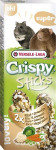VL Crispy tyč křeček, potkan - rýže, zelenina 2 ks, 110 g