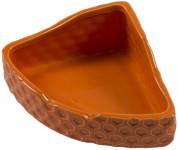 Miska keramická DUVO+ rohová naranja