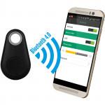 Chytrý přívěsek - hlídač a hledač věcí přes mobilní telefon, černý