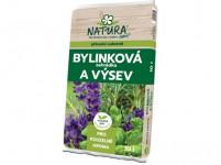 substrát bylinková zahrádka 10l NATURA - VÝPRODEJ