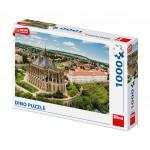 Puzzle 1000 dílků Kutná Hora dron collection