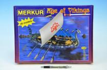 Stavebnice MERKUR Age of Vikings 40 modelů - VÝPRODEJ
