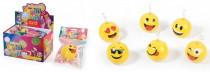 Balón emoji nafukovací