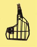 Náhubek kovový Boxer, Šarpej - fena, gumoplast 125 x 155 x 80 mm