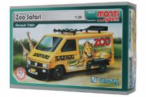 Stavebnice Monti 37 ZOO/Safari-Renault Trafic 1:35