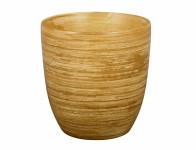 Obal na květník KODET TEAK keramický matný d13x14cm