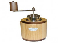 kávomlýnek OVÁL 17cm dřev. světlý
