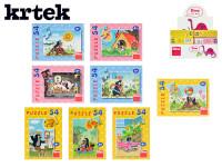 Minipuzzle Krteček    54D - mix variant či barev