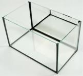 Akvárium lepené + zrcadlo na širší stěně Betta 25 x 15 x 15 cm