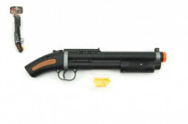 Pistole/brokovnice na kuličky 34cm + kuličky plast