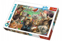 Puzzle Kočky 260 dílků 60x40cm