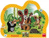 Puzzle 25 dílků kont.Krtek muzikant