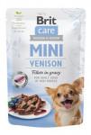 Brit Care Dog Mini Venison fillets in gravy 85g - VÝPRODEJ