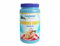 Tablety LAGUNA chlorové dezinfekční do bazénu 1kg