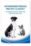 Očkovací průkaz pes/kočka Dyntec mezinárodní 1ks - VÝPRODEJ