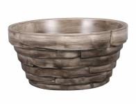Miska BONSAI GREY keramická matná šedá d18x9cm