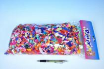 Konfety papírové 100g v sáčku karneval baleno - VÝPRODEJ