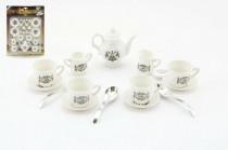 Nádobí - kávová a čajová sada plast 15ks - VÝPRODEJ