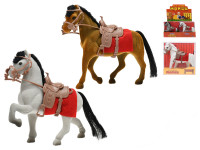 Kůň fliška 16 cm - mix barev