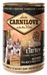 Carnilove WM konz. Salmon & Turkey for Puppies GF 400 g