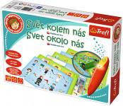 Malý objevitel Svět kolem nás + kouzelná tužka edukační společenská hra