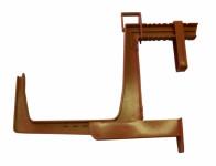 Držák na truhlík balkon Colore  ( Fantazie) terakota - VÝPRODEJ