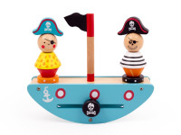 Pirátská loď -dřevěnámontessorihra