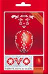 Barva na vajíčka OVO prášková červená - VÝPRODEJ