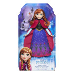 Frozen Princezna Elsa/Anna s třpytivými šaty a kamarádem