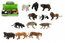 Zvířátko safari ZOO plast 10cm asst - mix variant či barev