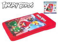 Angry Birds postel nafukovací se spacím pytlem
