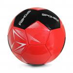 Spokey STENCIL Fotbalový míč vel. 5 červeno-černý