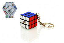 Rubikova kostka hlavolam přívěšek plast