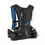 Spokey SPRINTER Sportovní, cyklistický a běžecký batoh 5 l, modro/černý, voděodolný - VÝPRODEJ