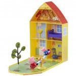 Prasátko Pepa - domeček se zahrádkou + figurka a příslušenství