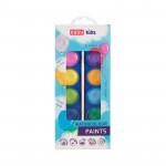 Vodové barvy 12 barev, průměr 3 cm