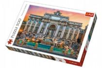 Puzzle Fontanna di Trevi, Řím 500 dílků 48x34cm