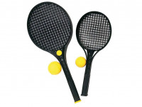 Soft tenis černý 47 cm