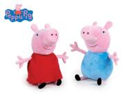 Peppa Pig - Pepina/George plyšoví 20 cm