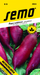 Semo Řepa salátová - Monorubra oválná jednoklíčková 2g