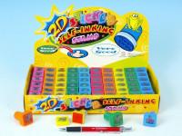 Razítka 2D - zvířátka 2,5x2,5cm - mix variant či barev - VÝPRODEJ