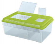 Terárium plast Geo Flat Large, Ferplast 46,7 x 30,5 x 17,5 cm