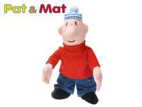 Postavička Mat plyš 40cm 0m+ v sáčku Pat a Mat - VÝPRODEJ